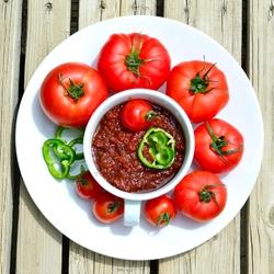 Пазл онлайн: Томатный соус