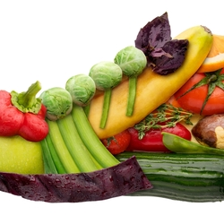 Пазл онлайн: Здоровая еда