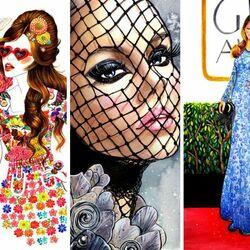 Пазл онлайн: Модный коллаж