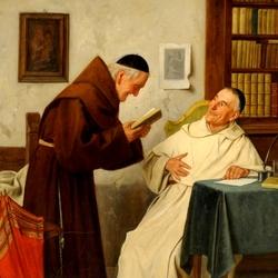 Пазл онлайн: В монастыре