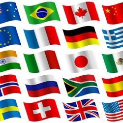 Пазл онлайн: Флаги