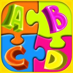 Пазл онлайн: Буквы