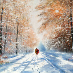 Пазл онлайн: Зимний сон
