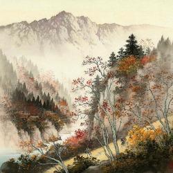 Пазл онлайн: Крутая гора