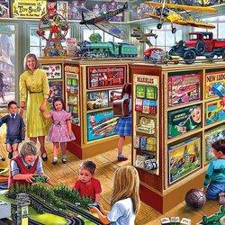 Пазл онлайн: Детский магазин