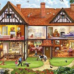 Пазл онлайн: Семейный дом