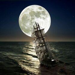 Пазл онлайн: По лунному курсу