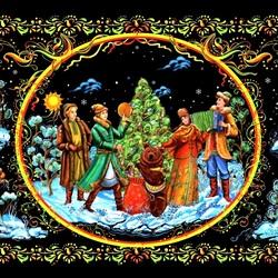 Пазл онлайн: Рождественские гулянья