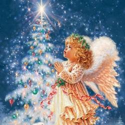 Пазл онлайн: Детская рождественская молитва