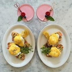 Пазл онлайн: Завтрак на двоих