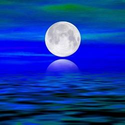 Пазл онлайн: В голубую волну