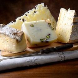 Пазл онлайн: Вкусный сыр