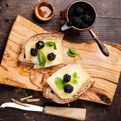 Пазл онлайн: Полезные бутерброды