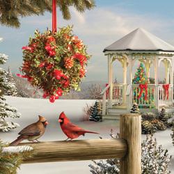 Пазл онлайн: Дух рождества