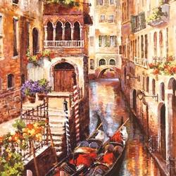 Пазл онлайн: У венецианского крыльца