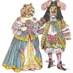 Пазл онлайн: Эпоха Людовика XIV (1660-1680гг.)