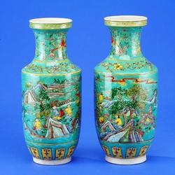Пазл онлайн: Китайские вазы