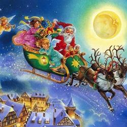 Пазл онлайн: Магия Рождества