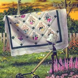 Пазл онлайн: Лоскутное одеяло