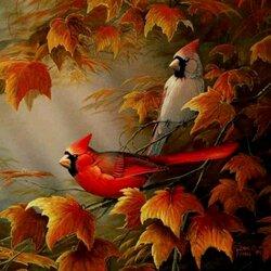 Пазл онлайн: Под цвет осени