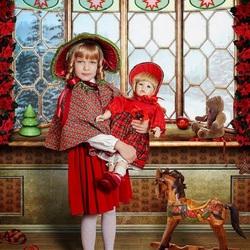 Пазл онлайн: Катина кукла