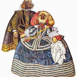 Пазл онлайн: Как у Веласкеса (1650-1670гг.)