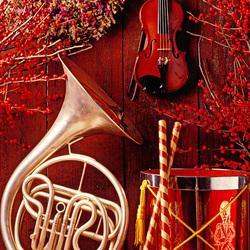 Пазл онлайн: Праздничные мелодии