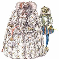 Пазл онлайн: Елизаветинская эпоха (1580-1600гг.)