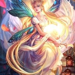 Пазл онлайн: Сейлор Мун, Принцесса Серенити