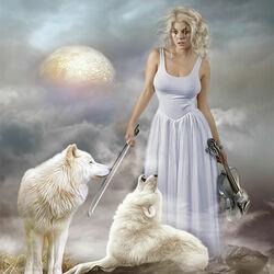 Пазл онлайн: Волчья соната