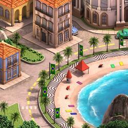 Пазл онлайн: О, Рио, Рио!