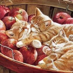 Пазл онлайн: Яблочный сон