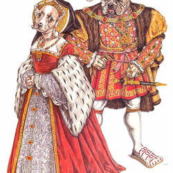 Пазл онлайн: Эпоха Тюдоров (1530-1550гг.)