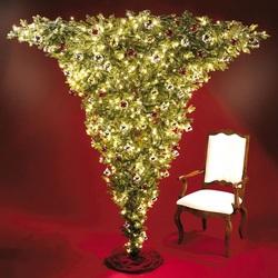 Пазл онлайн: Креативная елка