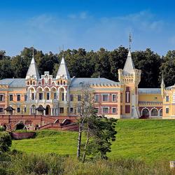 Пазл онлайн: Усадьба фон Дервиза в Кирицах