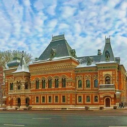Пазл онлайн: Московские улочки