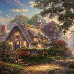 Пазл онлайн: Дом светлой любви