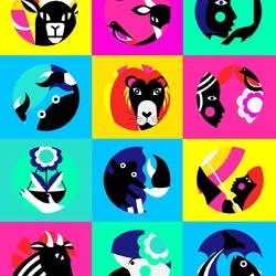 Пазл онлайн: Знаки Зодиака