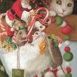 Пазл онлайн: С любовью, Санта!