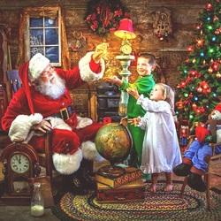 Пазл онлайн: Рождественские чудеса