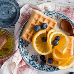 Пазл онлайн: Мёд с лимоном