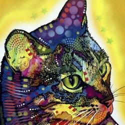 Пазл онлайн: Кот