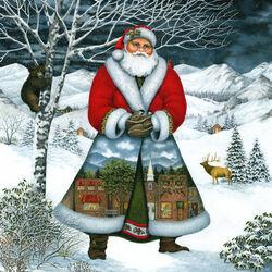 Пазл онлайн: Санта в Уэйнсвилле