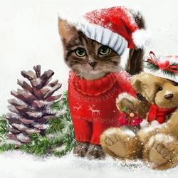 Пазл онлайн: Весёлого Рождества!