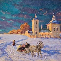 Пазл онлайн: Живопись Княжны Ольги Романовой