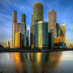 Пазл онлайн: Москва - Сити