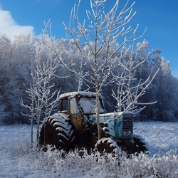 Пазл онлайн: Трактор