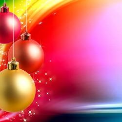 Пазл онлайн: Новогодние шары