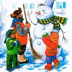 сшить картинку про зиму для детей Кировске продажу