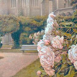 Пазл онлайн: Розовый сад